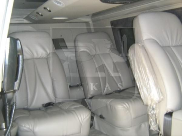 Armored Ford E350 VIP Van Interior