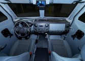 Armored Ford F550 CIT Vehicle Front Cabin Nigeria
