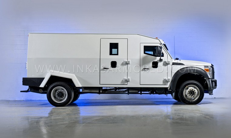 Armored Ford F550 Side View Nigeria
