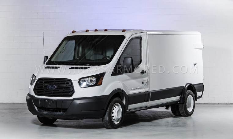 Armored Ford Transit Cash-In-Transit Vehicle INKAS Nigeria