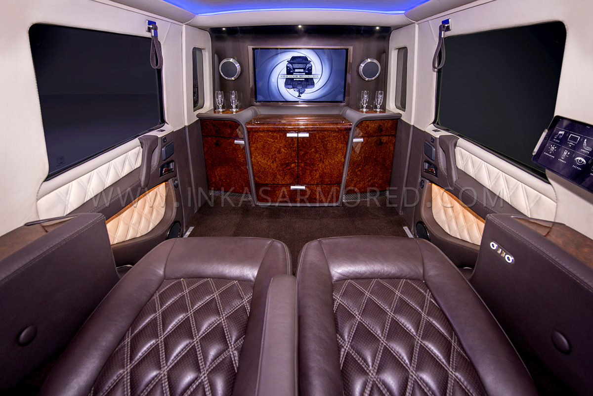 Mercedes Benz G63 Amg Armored Limousine For Sale Armored