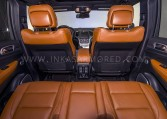 Armored Jeep Grand Cherokee Rear Seats Nigeria
