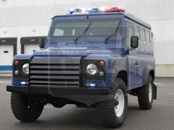 Armored Land Rover Defender Front Nigeria