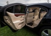 Armored Lexus LS 460 L Interior Rear Nigeria