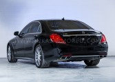 Armored MB S-Class Rear Nigeria