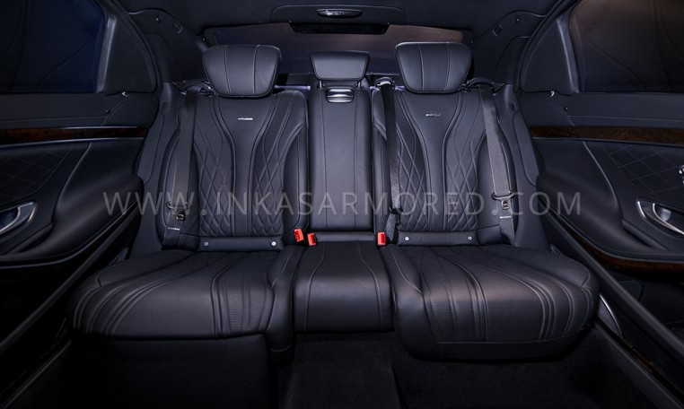 Armored Mercedes-Benz S-Class AMG Rear Seats Nigeria