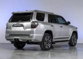 Armored Toyota 4Runner Rear View Nigeria