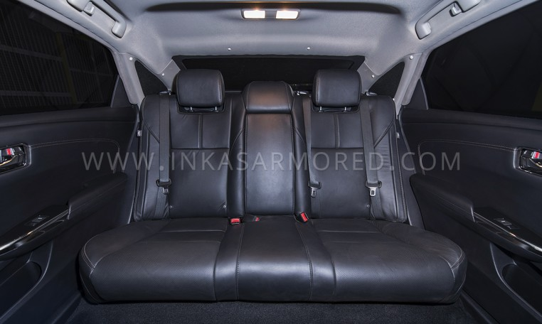 Armored Toyota Avalon Rear Seats Nigeria