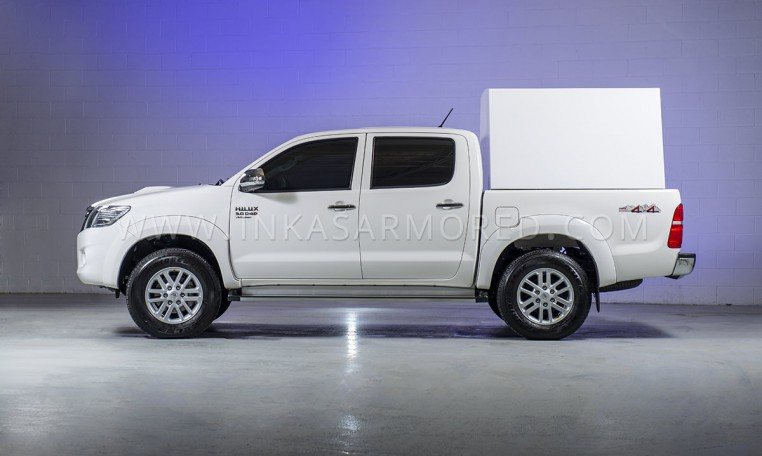Armored Toyota Hilux Cash In Transit Vehicle Nigeria