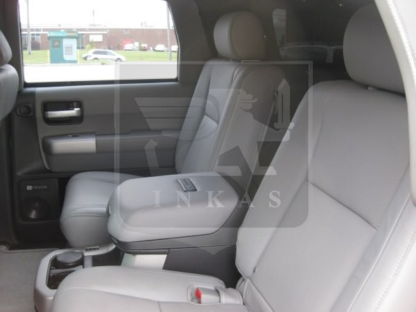 Armored Toyota Sequoia Rear Seats Nigeria