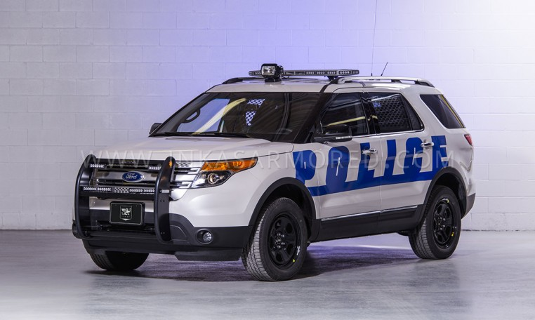 Armoured Ford Explorer SWAT Vehicle Nigeria