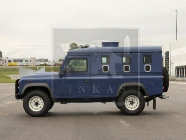 Armoured Land Rover Defender Vehicle by INKAS