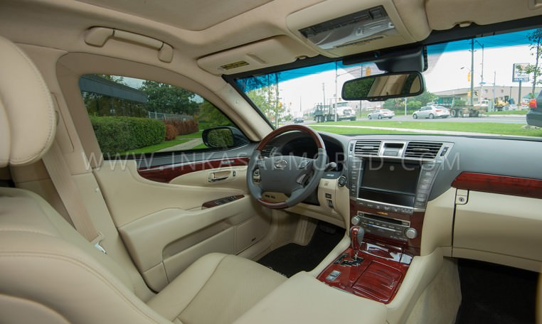 Armoured Lexus LS460 L Interior