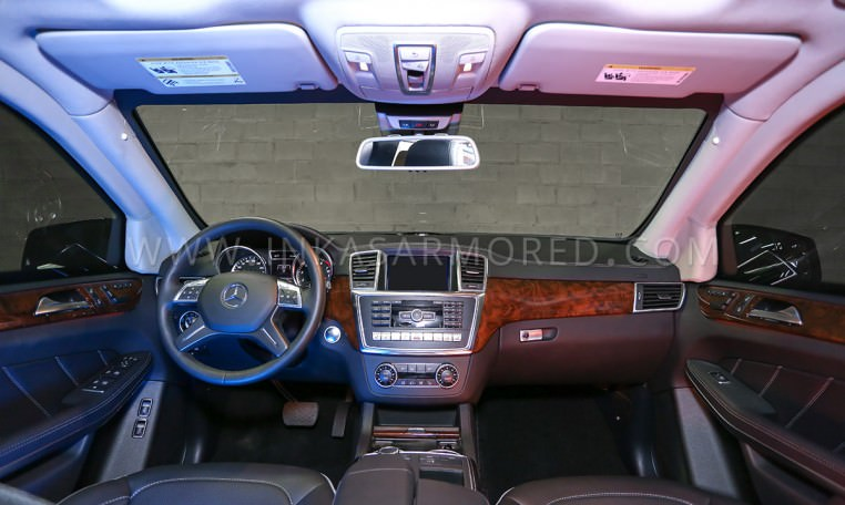 Armoured MB GL-Class Front Cabin