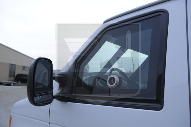 Nightvision Dash Cam On Ford Transit CIT
