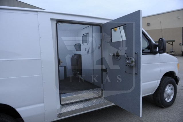 Ford E350 Custom Swing Door
