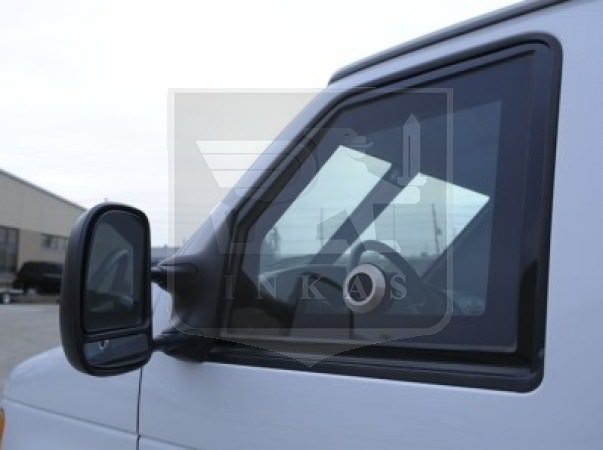 Ford E350 Gunport in Window
