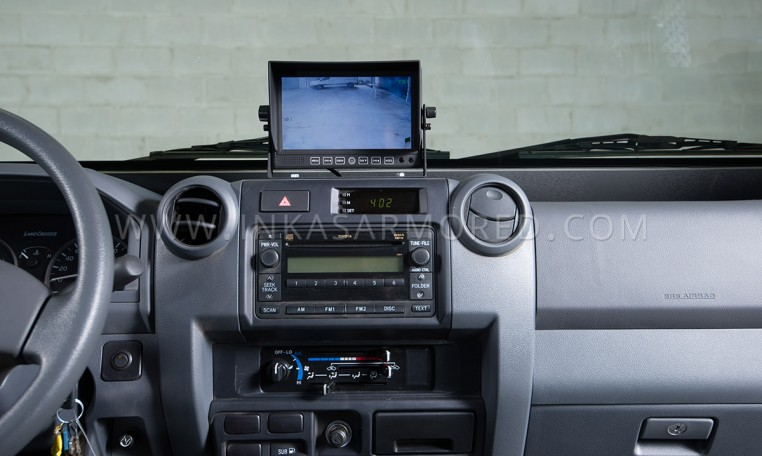 Ford F-550 Cash In Transit Vehicle Interior Nigeria