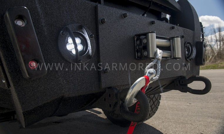 INKAS Armored Huron APC Sirens and Lighting