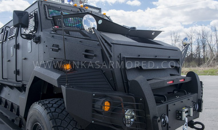 INKAS Huron APC Rear Door Nigeria