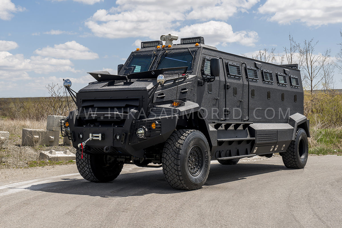 Inkas 174 Huron Apc For Sale Armored Vehicles Nigeria