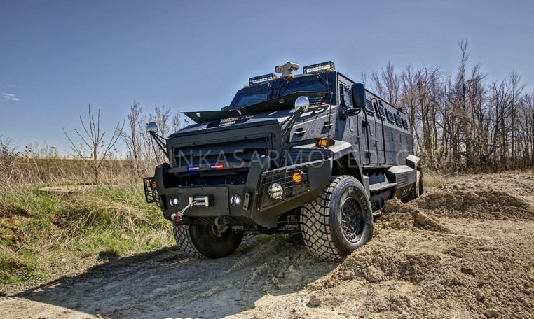 INKAS Huron APC In Action