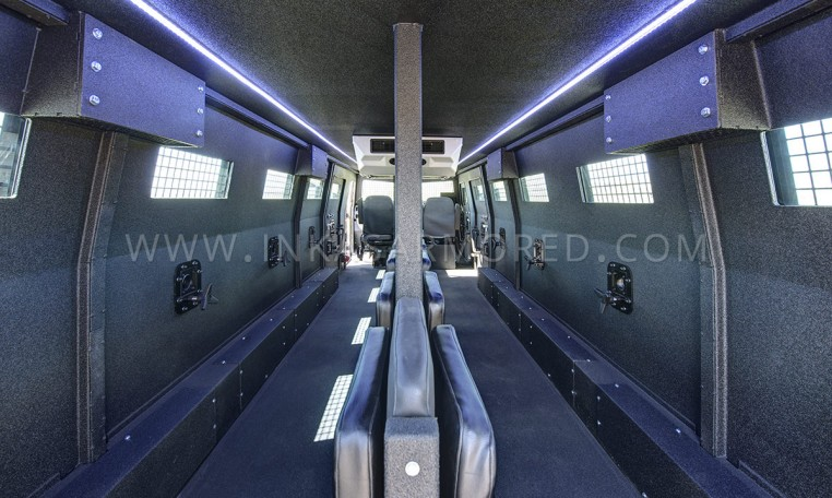 INKAS Huron APC Interior Compartment Nigeria