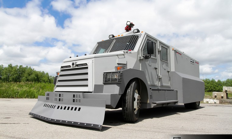INKAS Riot Control Vehicle Nigeria