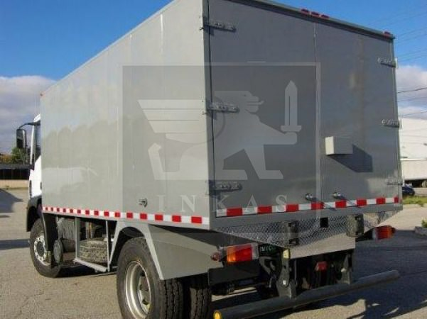 Iveco Armored CIT Truck Rear