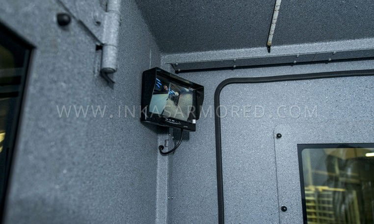Mercedes-Benz Armored Sprinter Cash Monitoring System