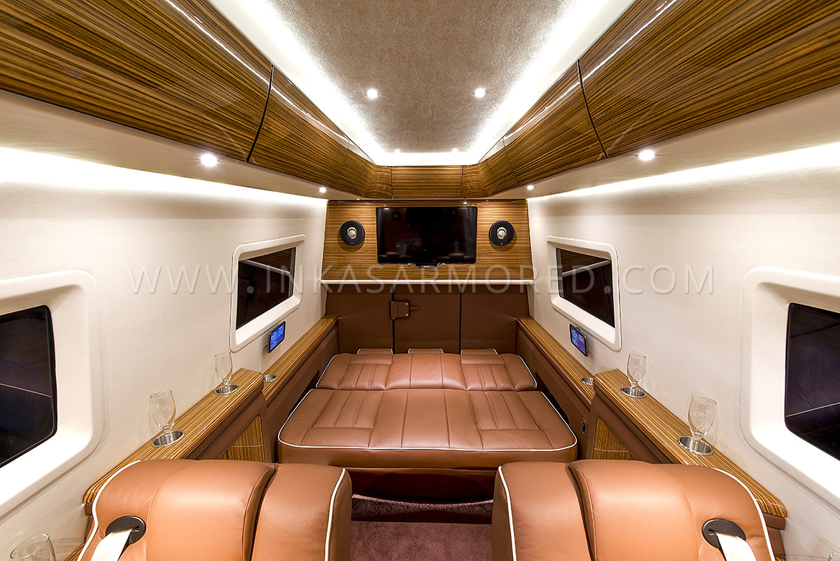 Mercedes Benz Sprinter Armored Limousine For Sale Armored Vehicles