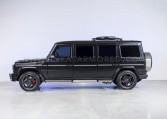 Stretched G63 Armored Limo Side View Nigeria