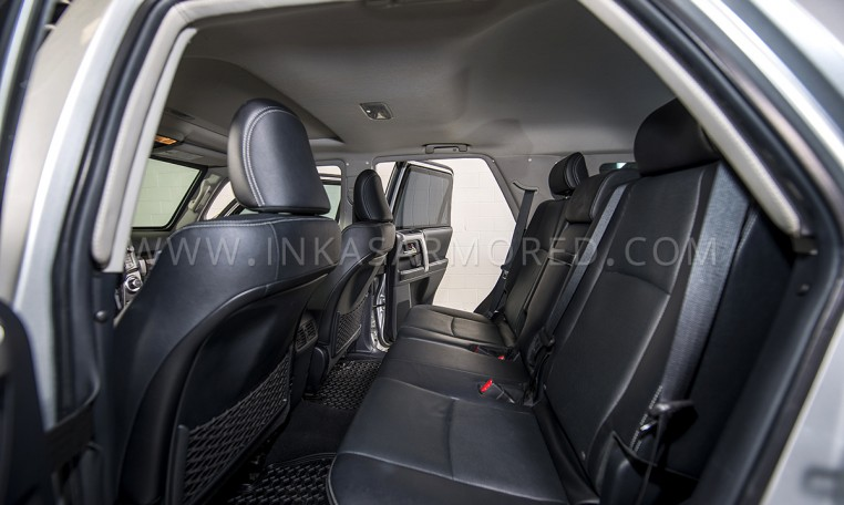 Toyota 4Runner Rear Seats Armored Nigeria