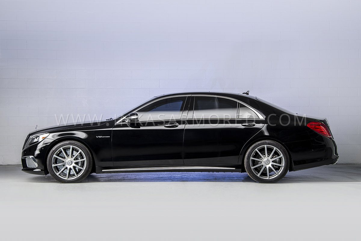Armored Mercedes-Benz S550 For Sale - Armored Vehicles