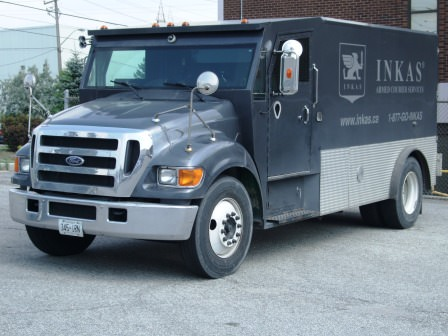 Armored F650 CIT Truck