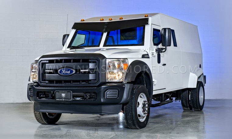 Armored Ford F550 Cash-In-Transit Vehicle Nigeria