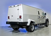 Armored Ford F550 Rear View Nigeria