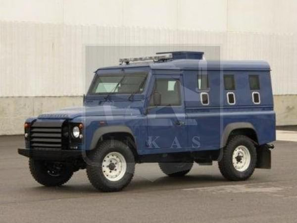 Armored Land Rover Def Nigeria
