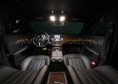 Armored Mercedes-Benz CLS Front Interior Nigeria