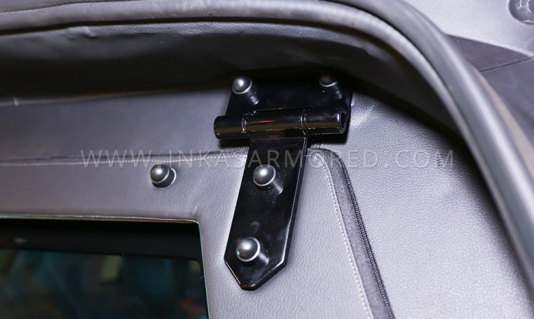 Armored Mercedes-Benz GL550 Bulkhead Latch