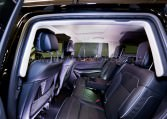Armored Mercedes-Benz GL550 Interior Nigeria