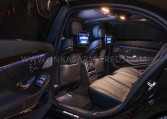Armored Mercedes-Benz S65 AMG Rear Seats Nigeria