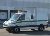 Armored Mercedes-Benz Sprinter Prisoner Transport Truck