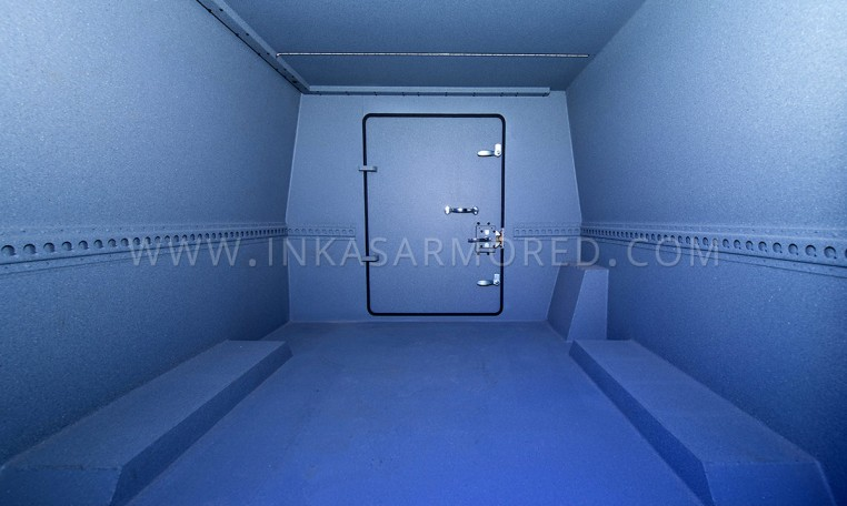Armoured Ford F550 CIT Cargo Hold Nigeria