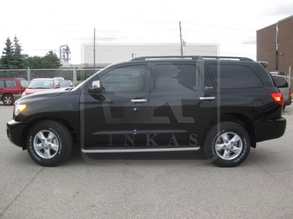 Armoured Toyota Sequoia