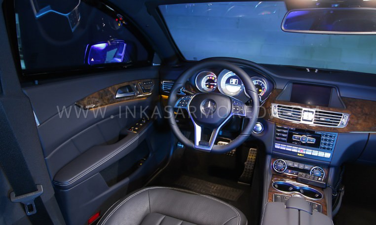 Bulletproof Car Mercedes-Benz CLS 550 Interior