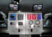 Controls on INKAS Armored Riot Control Vehicle Nigeria