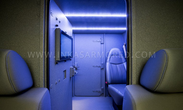 Ford F550 CIT Vehicle Interior Compartment by INKAS Nigeria