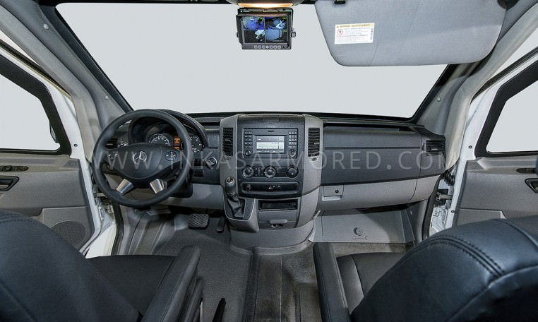 Mercedes-Benz CIT Armored Cash Truck by INKAS Front Cabin Nigeria