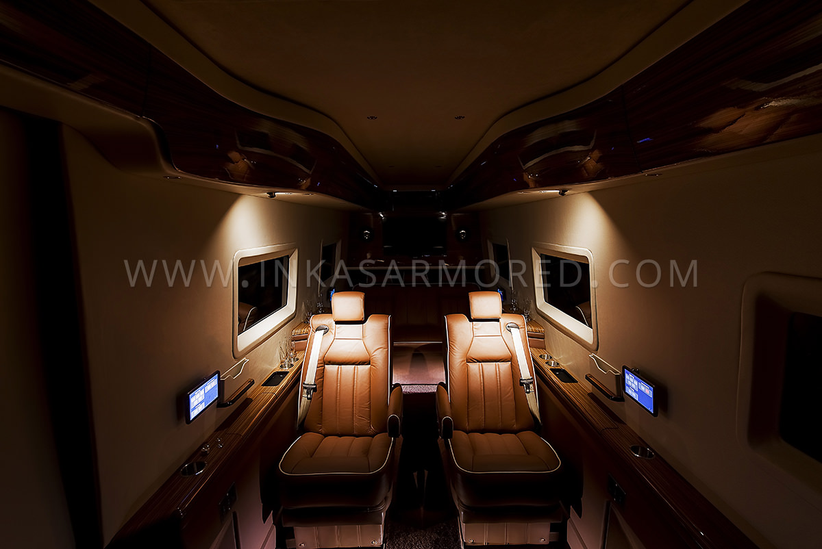 Mercedes-Benz Sprinter Armored Limousine For Sale - Armored
